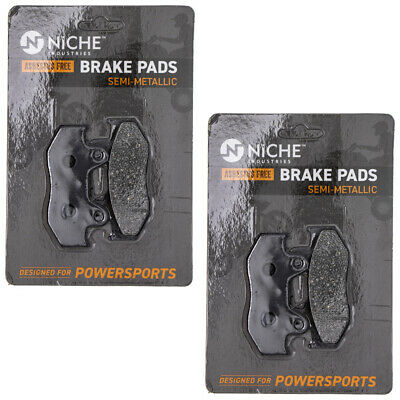 NICHE Brake Pad Set Suzuki Burgman AN400S 69100-14890 Rear Semi-Metallic 2 Pack