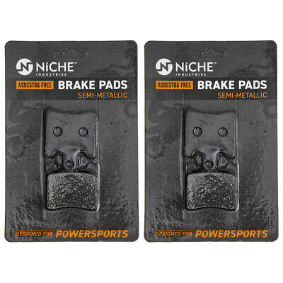NICHE Brake Pad Set Suzuki Burgman AN400S 59301-14810 Front Semi-Metallic 2 Pack