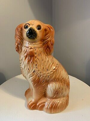 L and sons Limited made in English Spaniel Dog Figurine