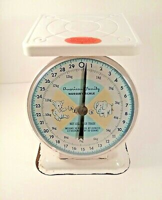 American Family Nursery Scale Baby up to 30 LBS Vintage Baby Collectible