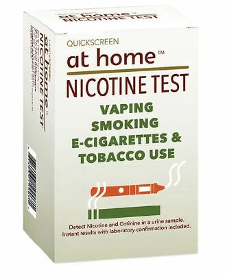 At Home QuickScreen Nicotine Test