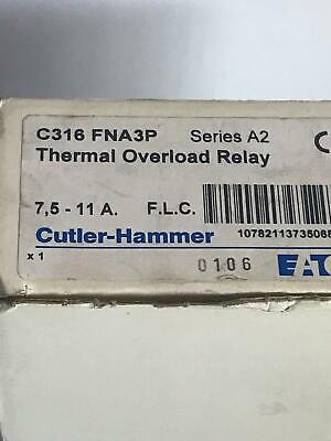 Cutler Hammer C316FNA3P thermal overload relay