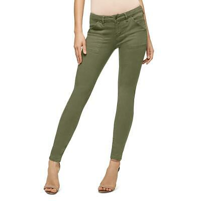 Sanctuary Womens Admiral Green Ankle Casual Everyday Skinny Pants 25 BHFO 7144