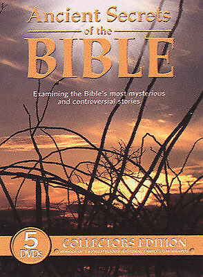 NEW & SEALED Set 5 DVDs - Ancient Secrets of the Bible Collector's Edition