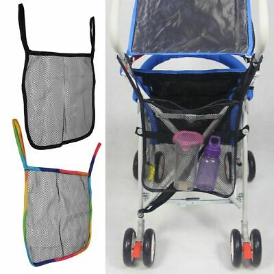 Universal Stroller Net Mesh Hanging Bag Buggy PRAM Pushchair Baby Storage AU