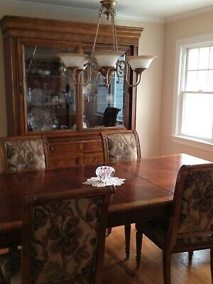 44970EC Set Of 4 ETHAN ALLEN Townhouse Ladderback Dining Room Chairs