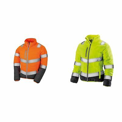 Result Womens/Ladies Safe-Guard Soft Safety Jacket (PC3162)