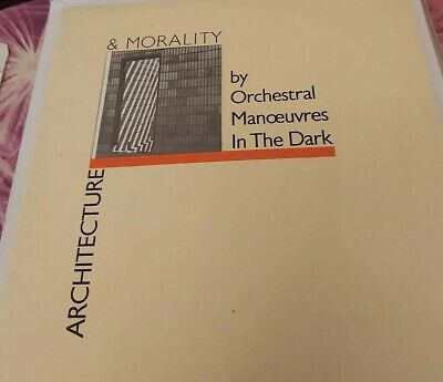 Orchestral Manoeuvres In The Dark~ Architecture & Morality Lp~ Vinyl Ex. Did12