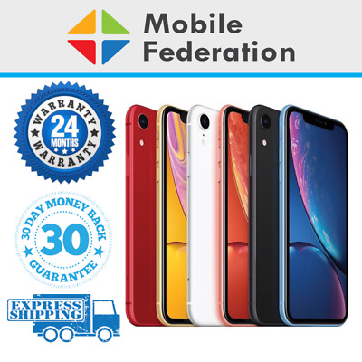 Apple iPhone XR A2105 64GB 128GB 256GB Unlocked [AU Stock]