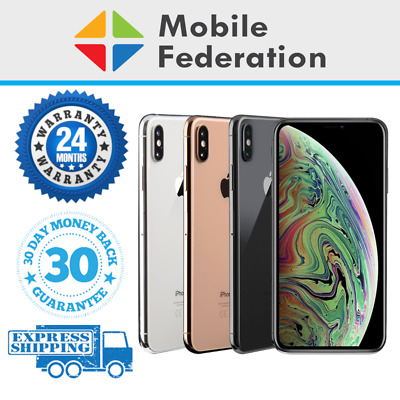 Apple iPhone XS A2097 64GB 256GB 512GB Unlocked [AU Stock]