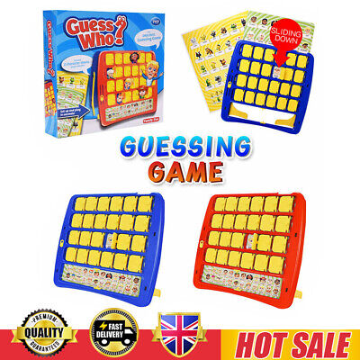 Guess Who Guessing Board Game Classic Game Kids Family Fun Toy Gift Present UK