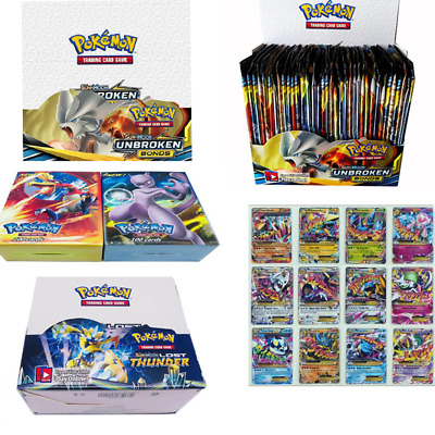 324pcs Pokemon TCG Booster Box English Edition Break Point Collectible Cards UK