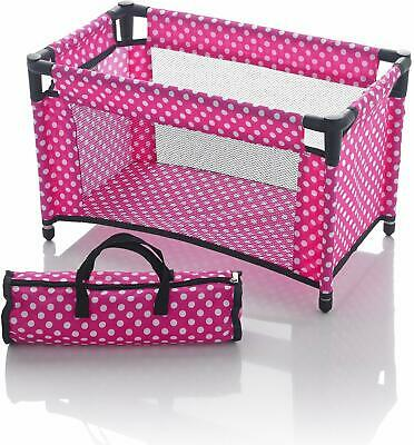 Molly Dolly Dolls Travel Cot Bed