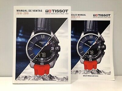 Tissot Manual of Sales 2018 2019 + Price List - Watches Watches - Spanish