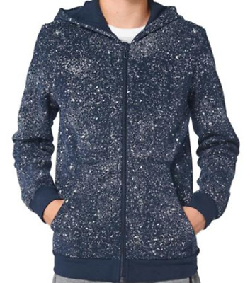 size kids approx 9-10 years - adidas originals galaxy hooded top - bk3516