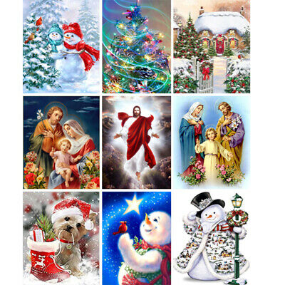 Christmas Gifts 5D Full Drill Diamond Painting Kits Embroidery Home Art Decors