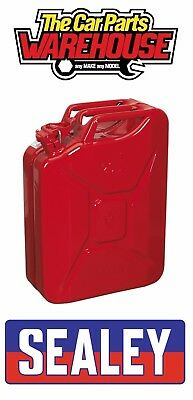 Petrol Container Stumpy Spout Lid Race Oil Safe Motorsport Rally Red Fuel