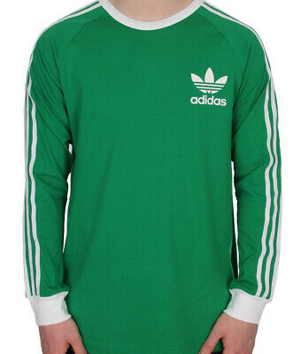 adidas Originals adicolor Long Sleeve T Shirt In Green