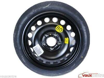 VAUXHALL ZAFIRA C TOURER 2012-PRESENT DAY SPACE SAVER SPARE WHEEL AND TOOL KIT