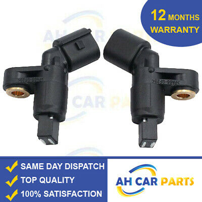 2X ABS SPEED SENSOR FOR AUDI A1 A2 A3 FRONT LEFT RIGHT