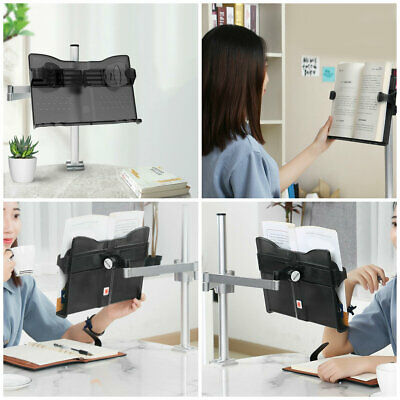 Table Lifting Book Stand Adjustable Adult Student Reading Holder for Eye Protect