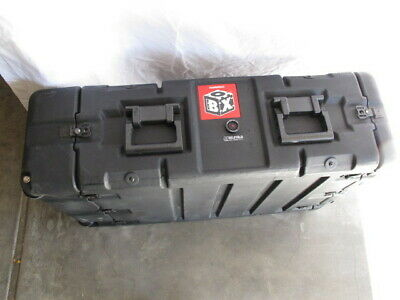 Pelican Hardigg BlackBox 3U Wheeled Rack Transport Case