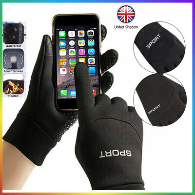 Football Gloves Kids Boys Waterproof Thermal Grip Outfield Sports