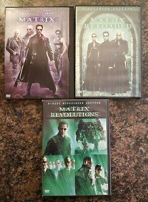 The Complete Set Of Matrix Trilogy Movies