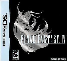 Final Fantasy IV (Nintendo DS, 2008) GAME CARTRIDGE ONLY, TESTED, CLASSIC RPG