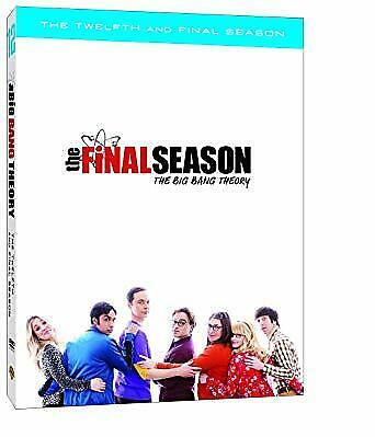 The Big Bang Theory: Season 12 (DVD) 2019 Brand New, Number of discs: 3