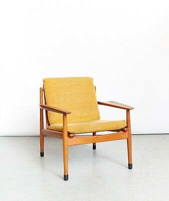 Arne  Vodder Mid-Century Teak Easy Chair for Glostrup I Versand möglich