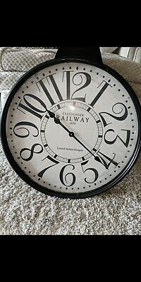 Railway Wall Clock