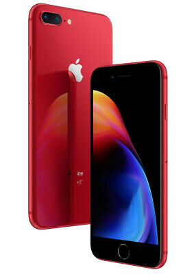 Apple iPhone 8 Plus Red - 64GB GSM/CDMA Factory Unlocked A1864 Grade A