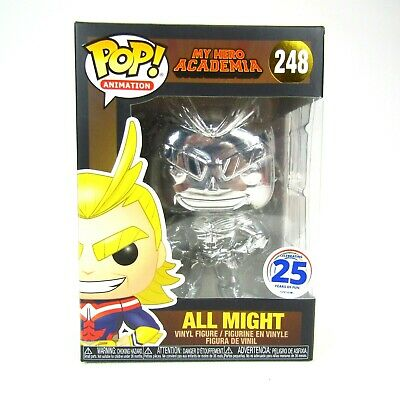 Funko Pop My Hero Academia Chrome All Might 2019 NYCC Funimation Exclusive