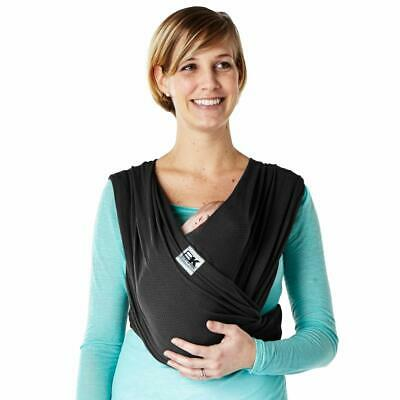 Baby K'tan BREEZE Baby Carrier Sling Size Small Black W/Box S 8-35 lbs.