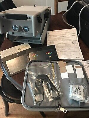 Titmus 2s Vision Tester with Power Cord, Slides,Accessories, and Case