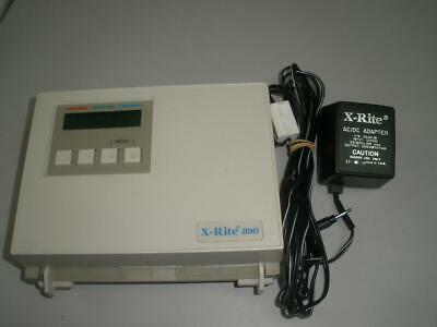 X-Rite 890 Color Photographic Densitometer w/ Power supply