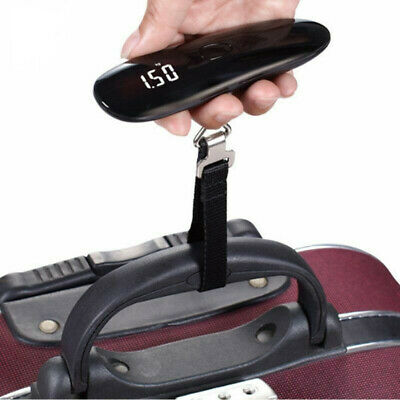 Luggage Scale 50kg x 50g Mini Portable Electronic Weight Hanging Steelyard
