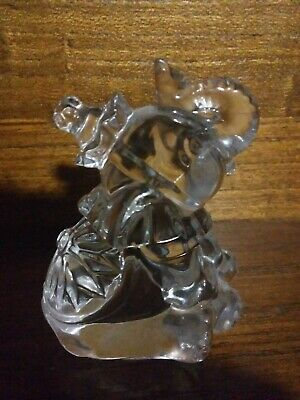 Princess House Crystal Treasures Rocking Circus Elephant Figurine Miniature...