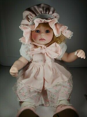 2006 Marie Osmond Boo Boo Baby Porcelain Doll Unique Two face Doll W/ COA