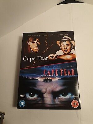 Cape Fear DVD Double Set 2 Disc 1962 And 1991 Versions