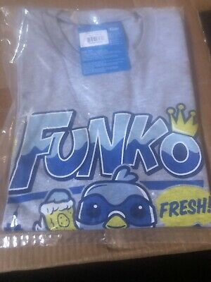 NEW! OFFICIAL NYCC 2019 FUNKO POP! TEE: PIGEON BOX T-SHIRT - SIZE Small