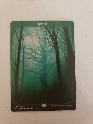 1x MTG Unstable Forest FULL ART MAGIC THE GATHERING