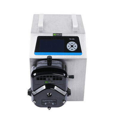 Flow Rate Peristaltic Pump V6-12L, 0.69-12000 mL/min, Large Flow, Servo Motor