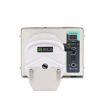 Basic Industrial Peristaltic Pump BT600M, 0.00166-2280 mL/min, LED, CE
