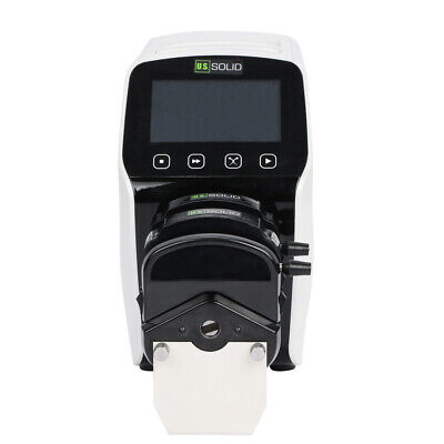 Flow Rate Peristaltic Pump LabV6, 0.000166-2280 mL/min, LCD, Transfer Animation