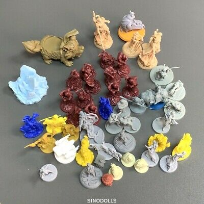 45x Zombicide Reapers Miniatures For DND Board Game Model Wargaming Figures Toy