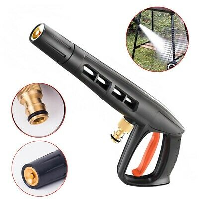 Pressure Washer Jet Wash Heavy Duty High Pressure Swivel Wash Gun Trigger