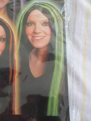 New Long Halloween Witch Wig  Addams Family Morticia Lady Dracula Fancy Dress
