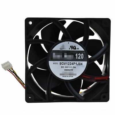 9GV1224P1J04 DC24V 1.5A For Sanyo wind volume inverter fan 4pin 120*120*38mm